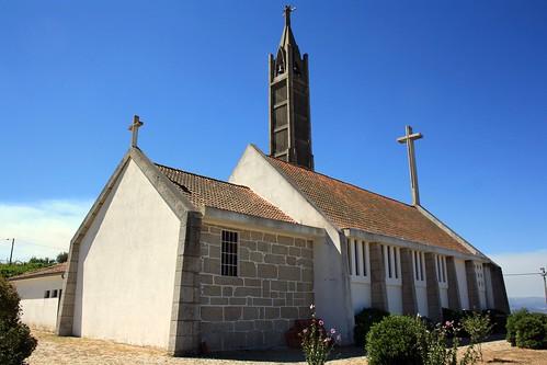 Igreja Matriz de Aldeias (traseira)