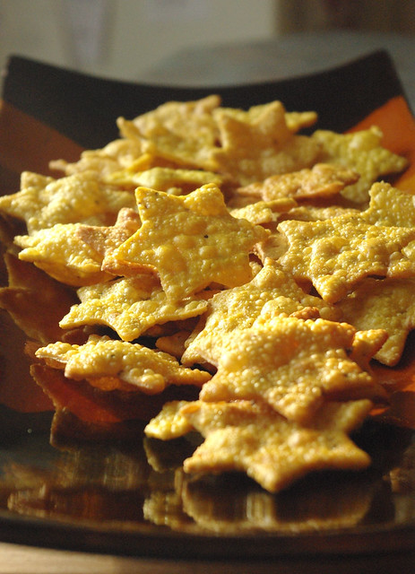Cuisine Indienne Besan Papdi Flickr Photo Sharing