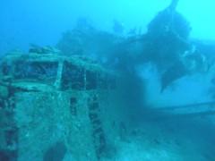 vehicle, sea, ocean, ghost ship, underwater, shipwreck, reef,