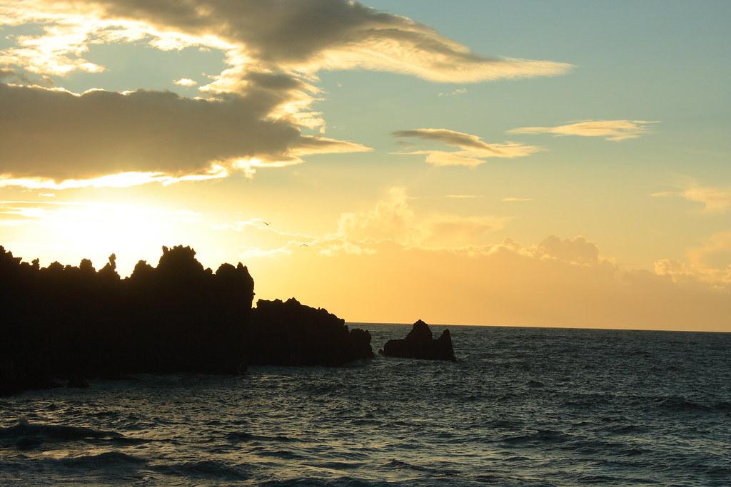 Sunset in Playa La Arena