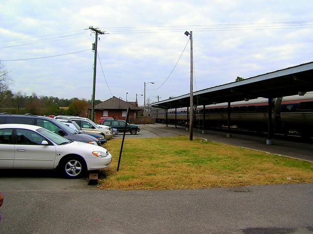 Petersburg Train Station: Ettrick, Virginia