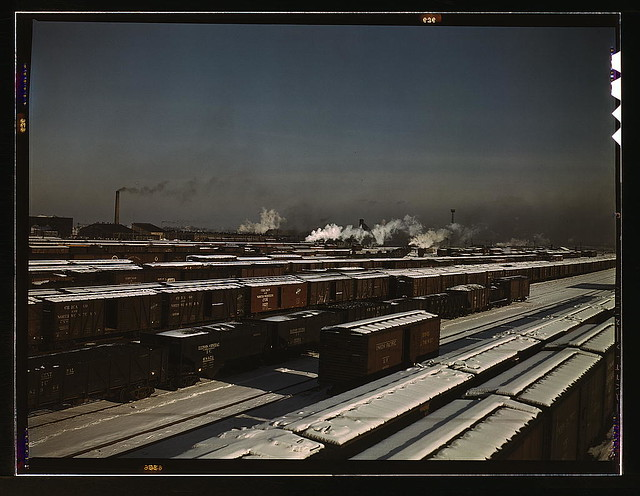 General view of a classification yard at C & NW RR's Proviso (?) yard, Chicago, Ill.  (LOC)