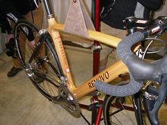 Renovo wood monocoque bike