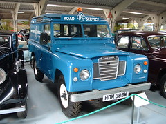 RAC Road service Land Rover