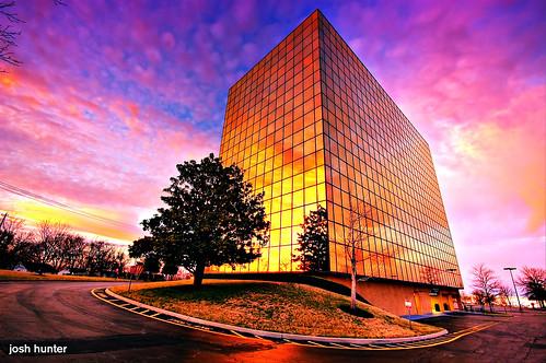 plaza sunset building architecture gold airport glow nashville dusk wide sigma wideangle international 1020mm hdr internationalplaza qualityhdr