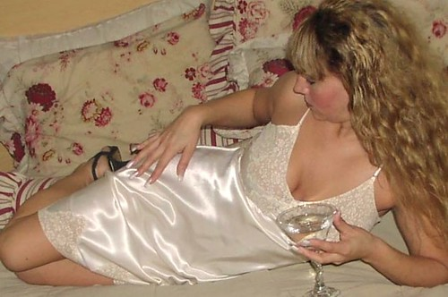 Satin Lingerie and Alcohol–Volatile Cocktail
