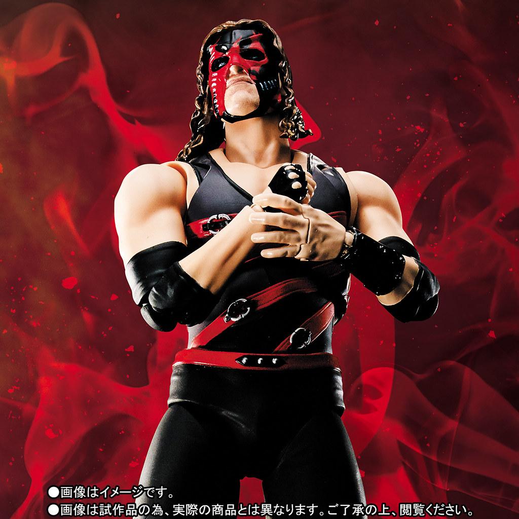 S.H.Figuarts – WWE 系列【肯恩 Kane】Brothers of Destruction 毀滅兄弟最強二人組!!