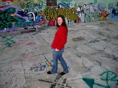 Chantal and wall