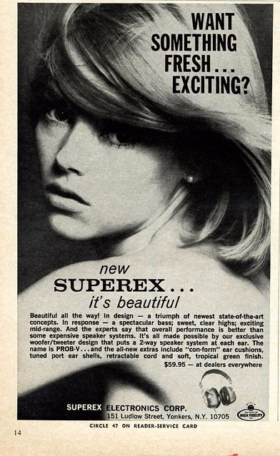 Superex PROB-V Headphones 1971