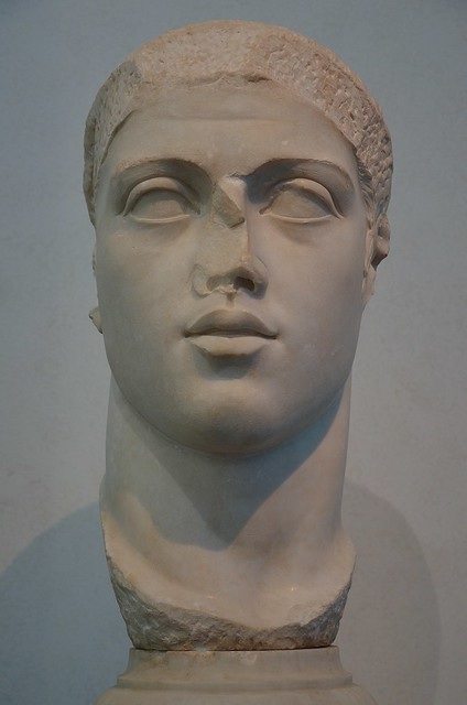 Portrait of Alexander Severus, from the Round Temple (?) in Ostia Antica, 222 - 235 AD, Palazzo Massimo alle Terme