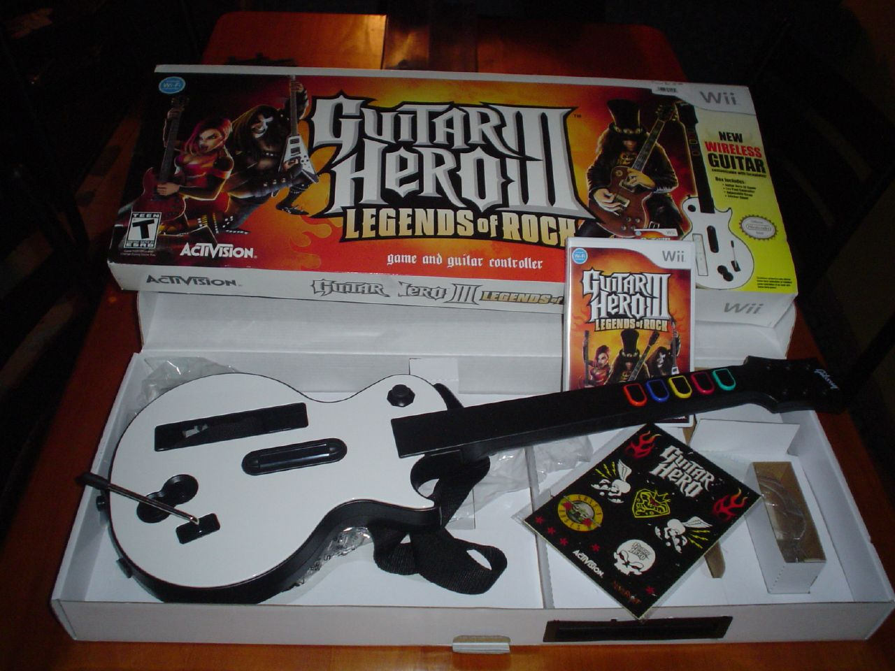 wii guitar hero iii legends of rock a photo on flickriver. Black Bedroom Furniture Sets. Home Design Ideas