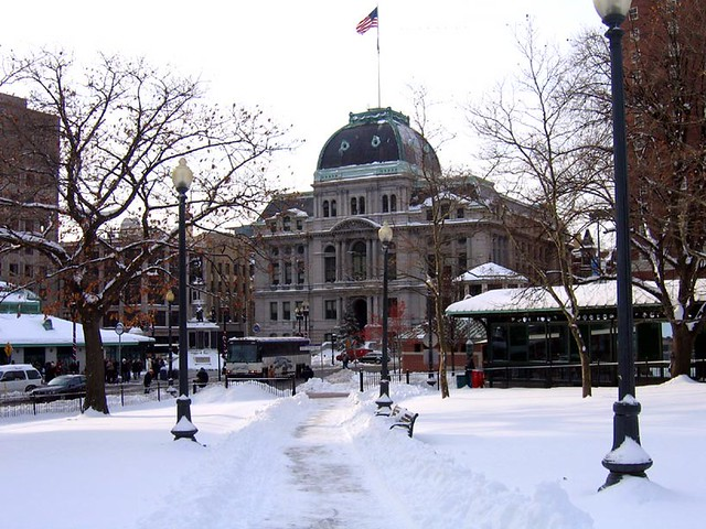 Providence, 1st Snow Storm of 2007