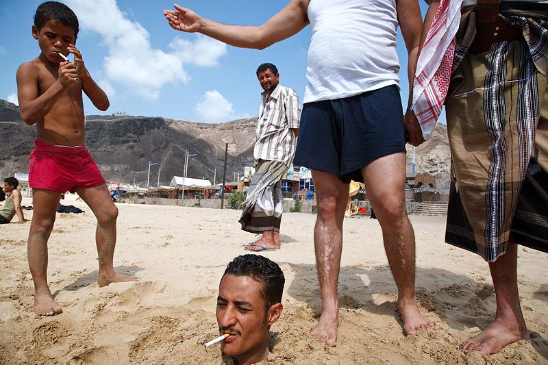 On the Beach - Aden, Yemen