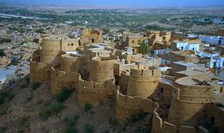 Image of Jaisalmer Fort near Jaisalmer.