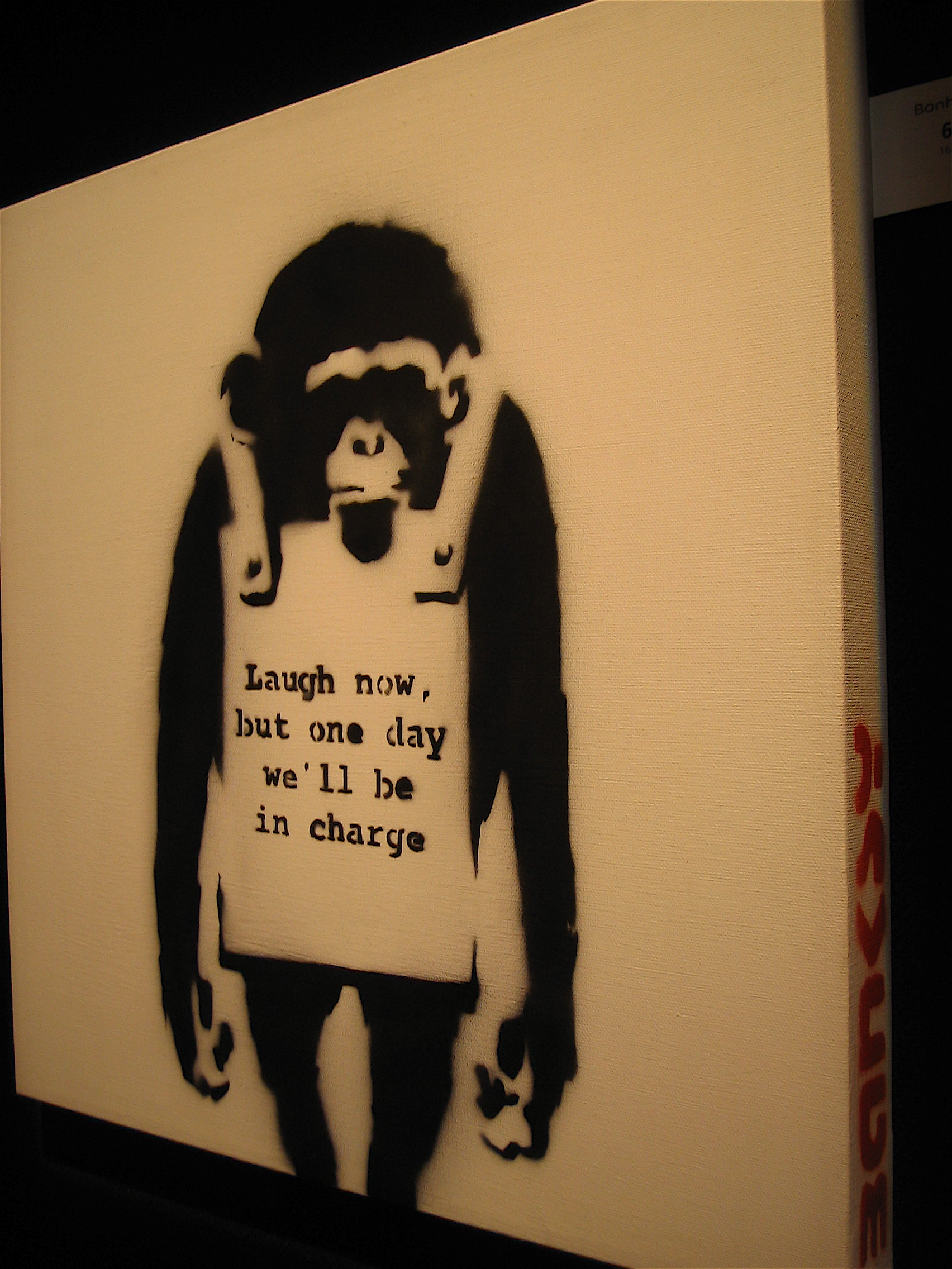 Banksy 'Laugh Now'
