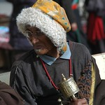 Tibetan Pilgrim - Xiahe, China