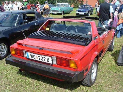 Fiat X1/9 Rear