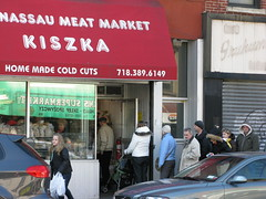 Kiszka Meat Market in Greenpoint