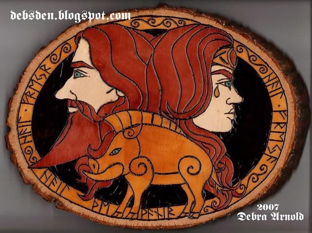 Freyr and Freya