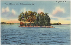 View of Islands, Lake Cobbosseecontee, Me.