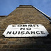 Commit No Nuisance Sign London by greenwood100