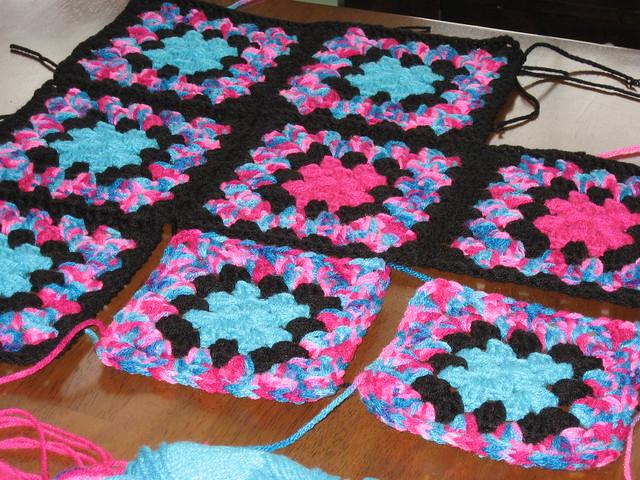 Crocheting Granny Square Blanket : Crochet Granny Square blanket Flickr - Photo Sharing!