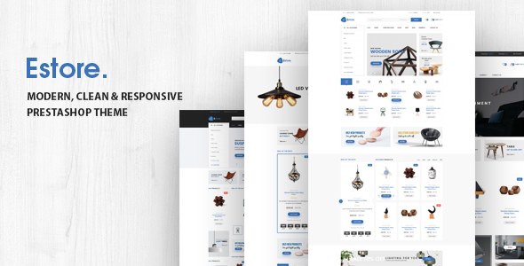 Estore v1.0 – Responsive Opencart Theme