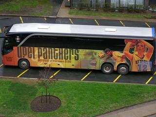 UPEI Panthers bus (Halifax NS, May 18 2009)