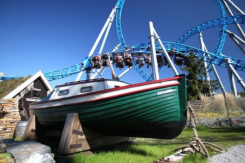 blue fire Megacoaster powered by GAZPROM (Europa-Park)