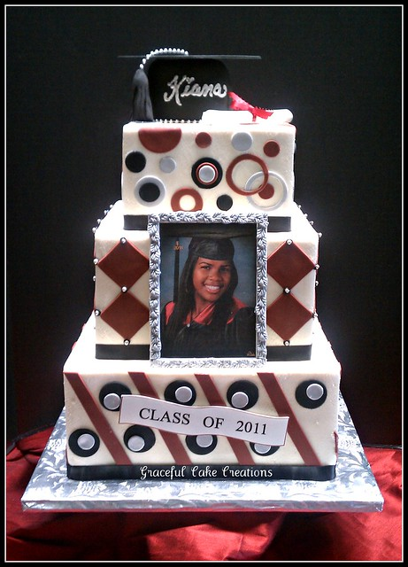 Square Graduation Cake Flickr Photo Sharing
