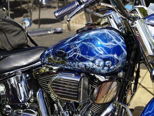 Harley-Davidson Tank Artwork