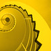 Spiral Stairs in Yellow by wentloog
