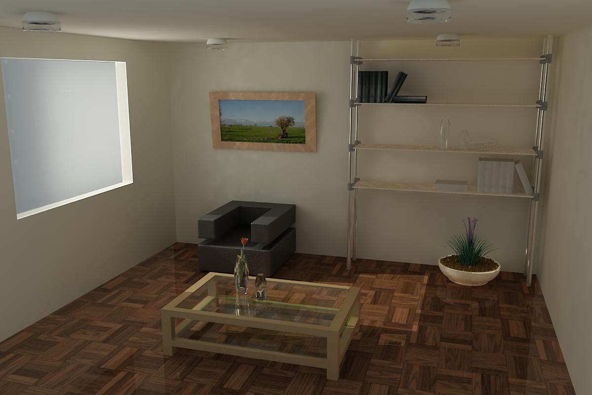 Iluminacion de interiores 3d max - Busco disenador de interiores ...