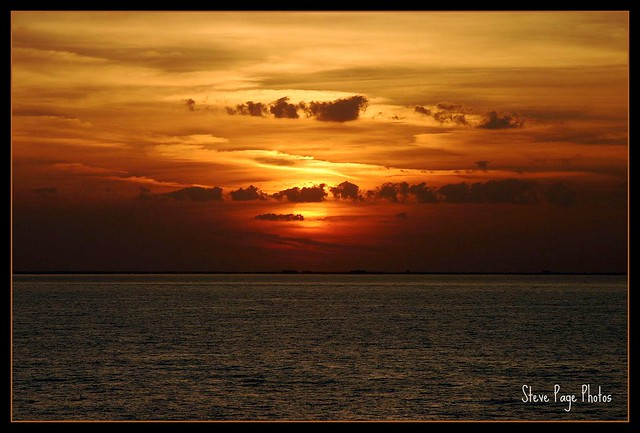 Mexican Sunset - Cozumel!