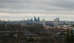 The City from the top of Greenwich