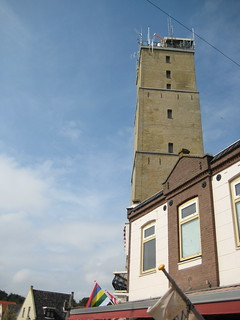Image of Brandaris near West-Terschelling.