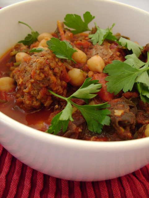 Chick Pea , Kale and Spicy Lamb Meatball Stew | Flickr - Photo Sharing ...