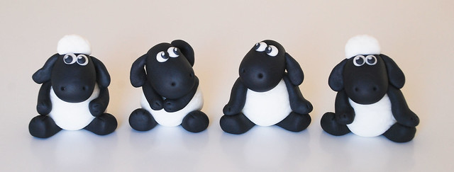 shaun the sheep cake toppers edible | Flickr - Photo Sharing!