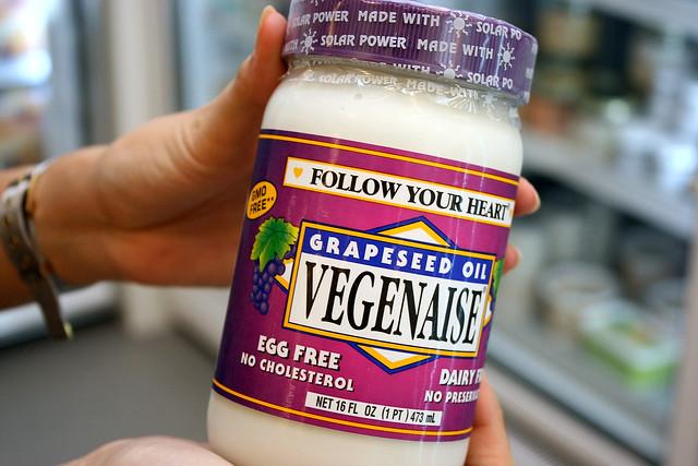 Organic vegan mayo! | Flickr - Photo Sharing!