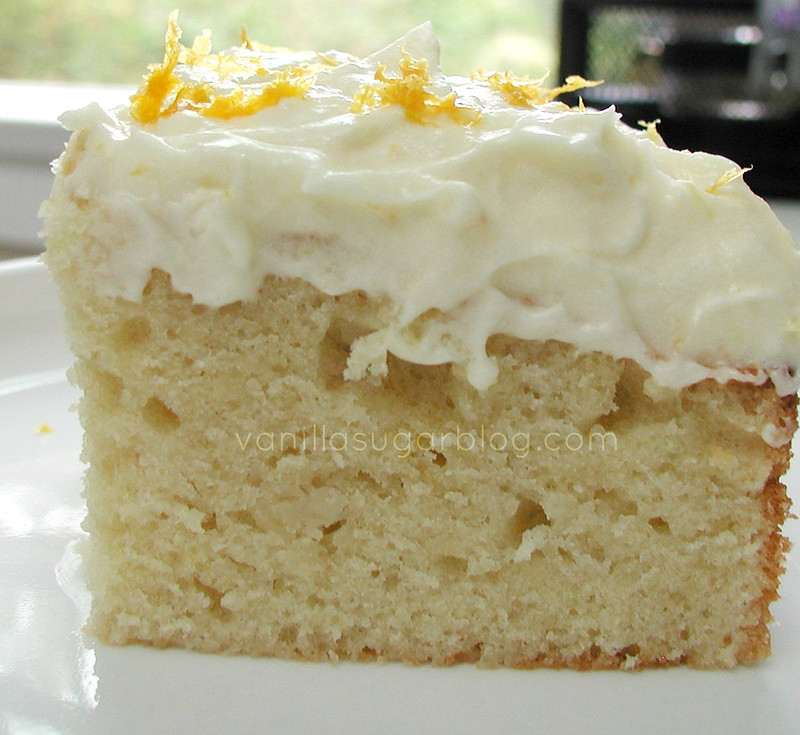 Vanilla Poundcake w Orange Creamsicle Frosting 3
