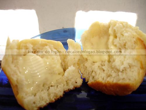 Pão com manteiga