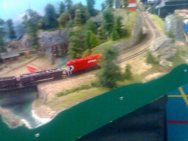 CP Rail Model Train