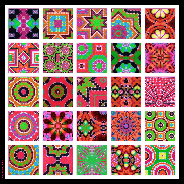 Mosaico bufanda de colores 2 flickr photo sharing - Mosaicos de colores ...