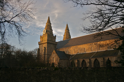 St. Machar's cathedral on a winter's afternoon