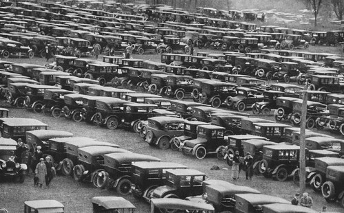The Automobile Industry - 1923