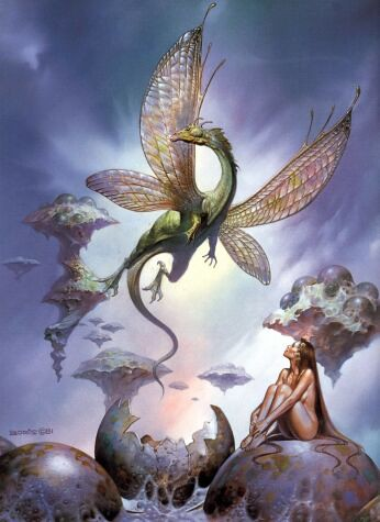 Erotic Fantasy Art Boris Vallejo - Dragons