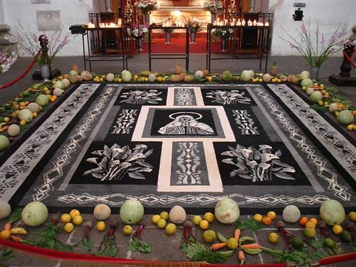 Suxeirox semana santa guatemala alfombras for Antigua alfombras