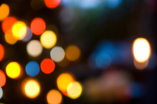 Out Of Focus Christmas Lights Flickr Photo Sharing