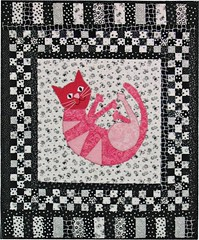 Pink Kitty Quilt