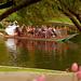"Boston - Boston Public Gardens ""Swan Boat Framed"""